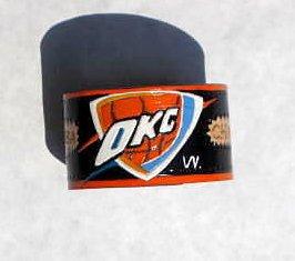 Collector's OKC Thunder NBA Leather Bracelet Item # 199