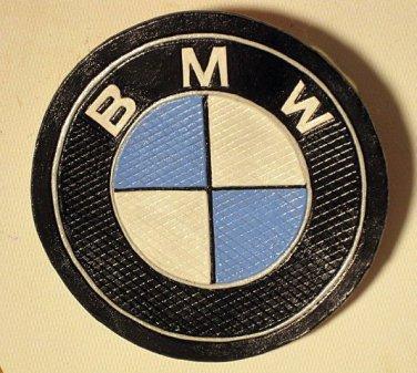 BMW Leather Roundel Diamond Cut Design (larger) Item 214