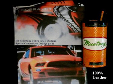 Mustang Leather Cantina Handcrafted In USA # 223