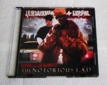 La The Darkman - The Notorious L.A.D. (CD) Lil' Wayne, Twista