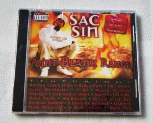 Sac Sin - Point Blank Range (CD) [NEW] Brotha Lynch Hung