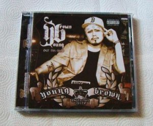 Young Brown - Out Tha Gate (CD) [NEW] Suga Free, 40 Glocc, Bad Azz