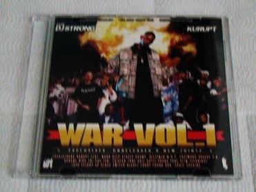 Kurupt Young Gotti - WAR (CD) Dogg Pound Beef, Death Row