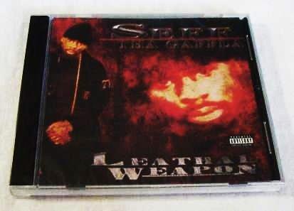 Seff Tha Gaffla - Lethal Weapon (CD) [NEW] JT The Bigga Figga