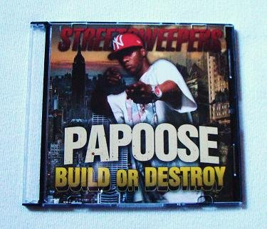 Papoose - Build Or Destroy (CD) C-Murder, Pete Rock, Remy Ma