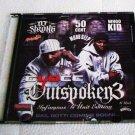 40 Glocc - Outspoken 3 (CD) G-Unit West - Spider Loc, Jayo Felony