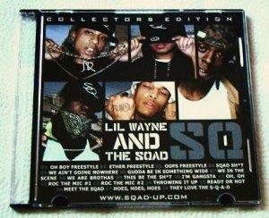 Lil' Wayne & Sqad Up - SQ1 (CD) [Collectors Edition)