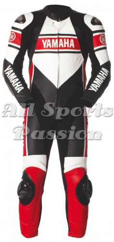 Yamaha Motorbike Leather Racing 1-PC Suit ASP-7709