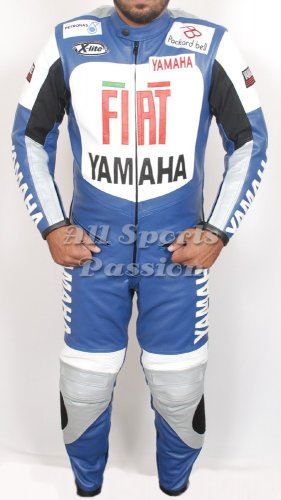 Yamaha FIAT Motorcycle Racing Leather Suit  ASP-7711