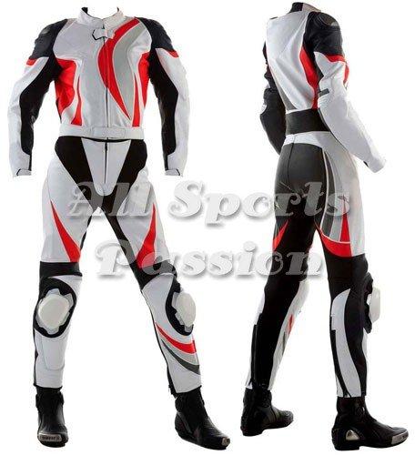 Super Lady Motorbike Leather Suit ASP-7713