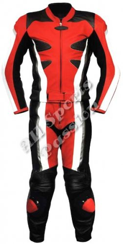 Custom Made Leather Motorbike Racing Suit ASP-7745