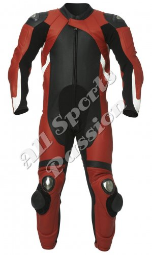 Custom Made Leather Motorbike Racing Suit ASP-7753