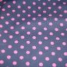 Polka Dot Parade Fitted Diaper and Cover sz Small
