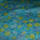 Bubbles Fitted Cloth Diaper and Cover Sz Small