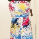 DONNA RICCO WOMEN STRAPLESS DRESS