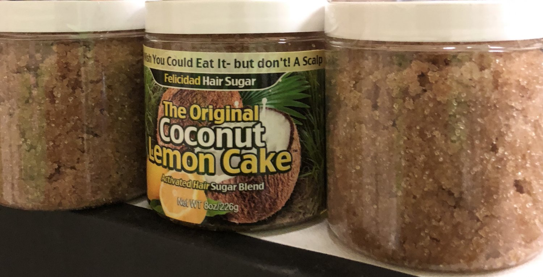 30% off Coconut Lemon Cake Hair Sugar 16oz August 2020