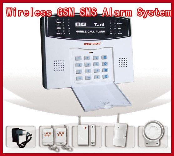 GSM Home Security Alarm Systems With Voice and Intercom (YL-007M2A)