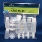 Tsa 1 Quart Size Bag Travel Kit, 311, 3-1-1