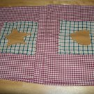 new placemat deisgns, set of 4...any custom colors as seen matches curtains