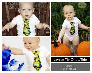 Lizard Tie Onesie/T- Shirt