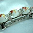 Handmade porcelain hair clip