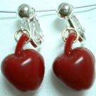Girl Jewelry red apple earring