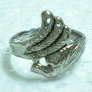 Metal ring fashion ring filigree ring US 8.5