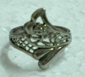 Metal ring fashion ring filigree ring US 7