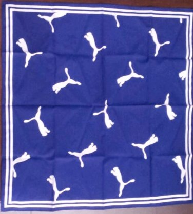 "(Sale) Puma Handkerchief 20"" x 20"""