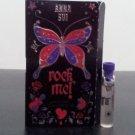 Anna Sui Rock Me for women Eau De Toilette  0.04 fl oz 1.2ml sample vail on card