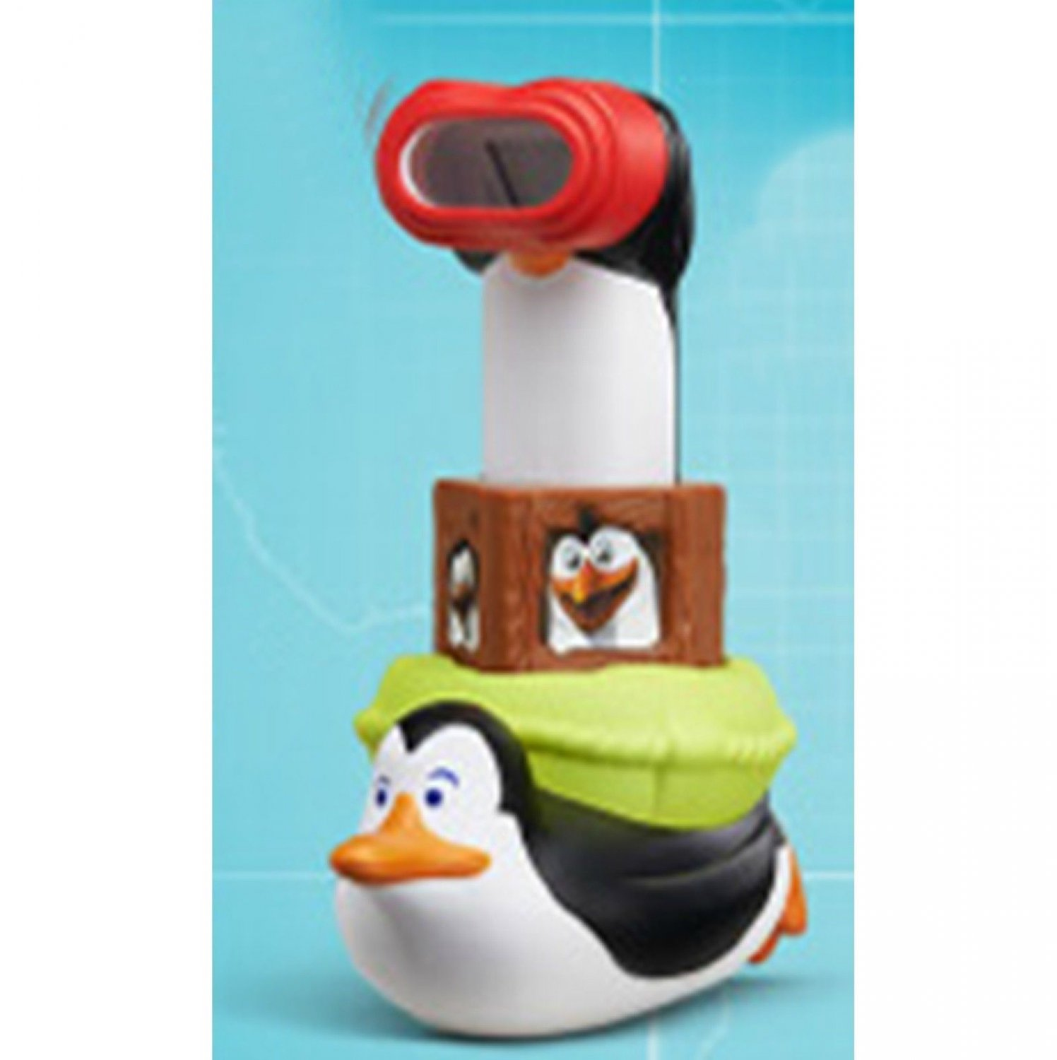 HK McDonald's Happy Meal Toy:2014 PENGUINS MADAGASCAR