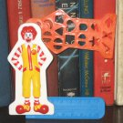 HK McDonald's Happy Meal Toy 2014 Ronald McDonald Ruler & Stencil Set