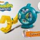 HK McDonald's Happy Meal Toy 2014 Nickelodeon squarepants explorer claw