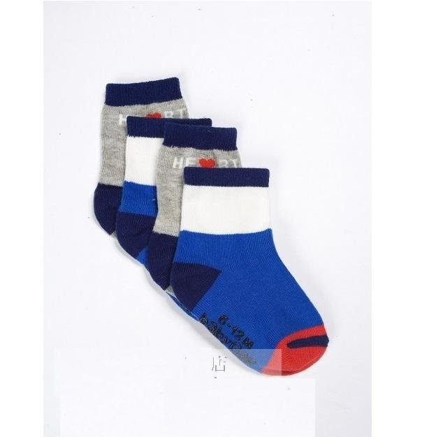 Gap Baby boy infant sock size 6-12 months NEW  2 pairs set