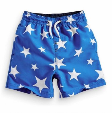 NEW NEXT Baby boy infant summer sea star print swim short 6-9 moths