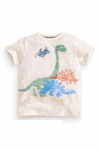 NEW NEXT baby infant boy short sleeve dinosaur print T-shirt  6-9 months