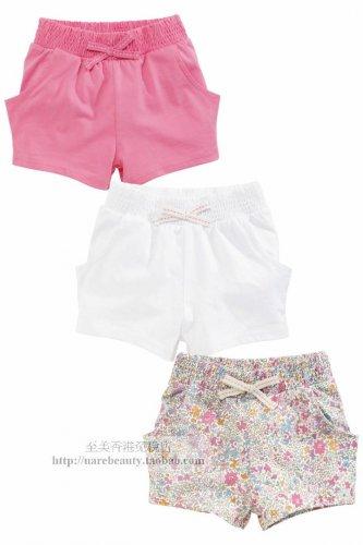 NWT NEXT baby girl infant summer pink white floral print short 3 pcs SET 3-6 mos