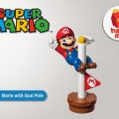 HK McDonald's Happy Meal Toy:2014 Super Mario with Goal Pole
