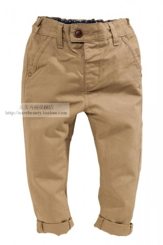 NEW NEXT Baby boy infant Neutral Chinos size 12-18 months