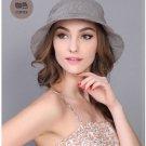 Brown Woman Summer Sun protection anti UV fishing fisherman hat