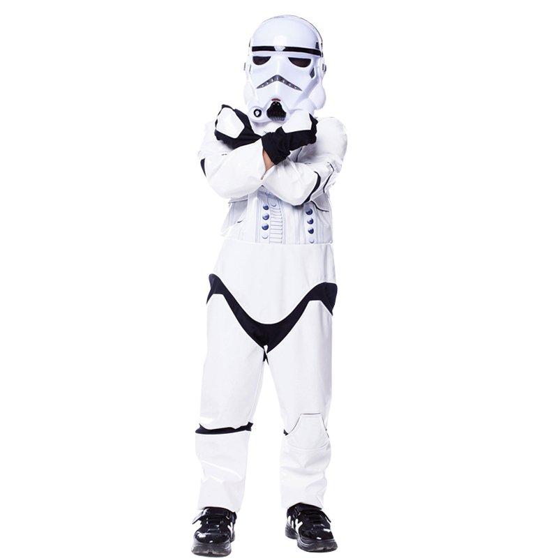 Cosplay Star Wars Stormtrooper Darth Vader Mask Helmet Costume set for boys