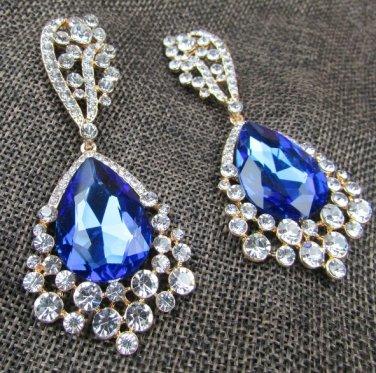 Fashion Jewelry Glass Earring