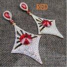 Fashion Jewelry Crusader Glass Earring