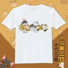 Boy's Japan anime Neko Atsume graphic T-Shirt