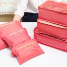 Travel Organizing Packing Pouch Multi Size 6 PCS SET