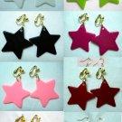 Star dangle kid girl earring