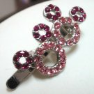 Girls disney minnie crystal hair clip