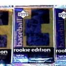 3 new 1998 ROOKIE EDITION baseball ser.3 PACK - sealed