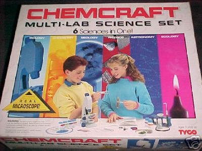 ChemCraft 6 sciences in 1 microscope complete lab set