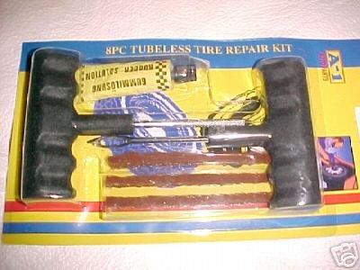 9 nine new car automobile tubelessTIRE plug REPAIR kits